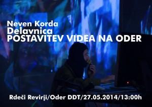 Neven Korda: Delavnica postavitve videa na oder