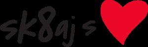 Logotip akcije Sk8aj s srcem
